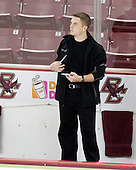 Kenny Ryan (Boston College Senior Manager) - The University of Notre Dame Fighting Irish defeated the Boston College Eagles 4-1 on Friday, November 7, 2008, at Conte Forum in Chestnut Hill, Massachusetts.