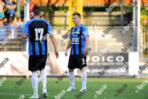 2012-08-23 / Voetbal / seizoen 2012-2013 / Rupel-Boom / Cedric de Troetsel..Foto: Mpics.be