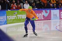 SCHAATSEN: HEERENVEEN: IJsstadion Thialf, 17-11-2012, Essent ISU World Cup, Season 2012-2013, Men 1st 500 meter Division A, Ronald Mulder (NED), ©foto Martin de Jong