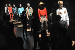 Spring/Summer 2015 Collection of Japanese fashion brand TOGA VIRILIS on October 18, 2014, in Tokyo.