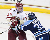 Bill Arnold (BC - 24), Joey Diamond (Maine - 39) - The Boston College Eagles defeated the visiting University of Maine Black Bears 4-0 on Friday, November 19, 2010, at Conte Forum in Chestnut Hill, Massachusetts.