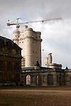 20060213 - France - Vincennes<br />LE CHATEAU DE VINCENNES : RESTAURATION DU DONJON<br />Ref: CHATEAU_DE_VINCENNES_016 - © Philippe Noisette