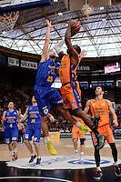 Sato vs O'Leary<br /> Liga Endesa ACB - 2014/15<br /> J12<br /> Valencia Basket vs Herbalife Gran Canaria