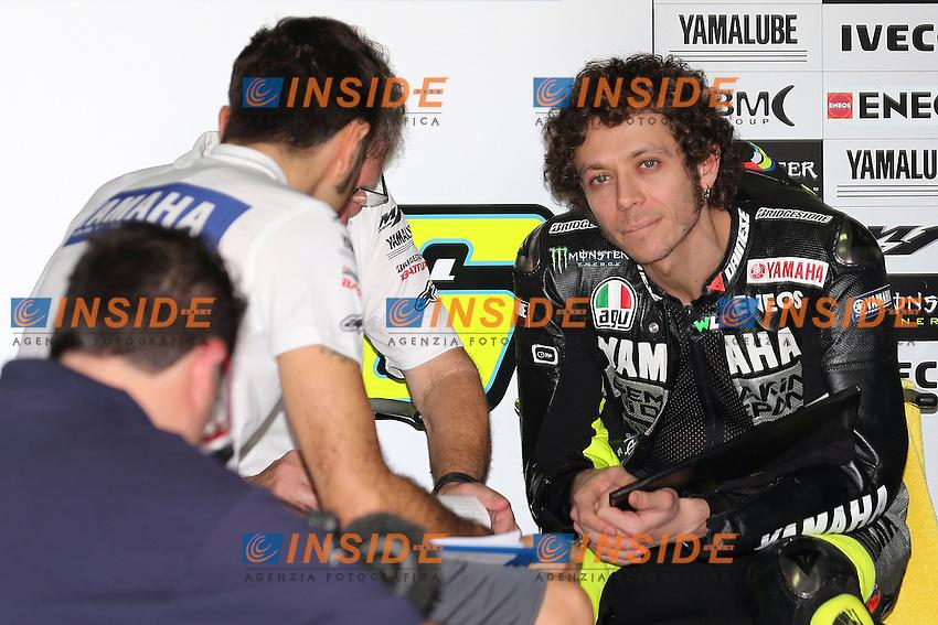 .06-02-2013 Kuala Lumpur (MAL).Motogp world championship.in the picture: Valentino Rossi - Yamaha factory team .Foto Semedia/Insidefoto.ITALY ONLY