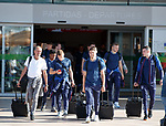 22.06.2019 Rangers arrive in Portugal: Doc Mark Waller, Greg Docherty, Matt Polster and George Edmundson