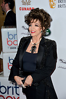 BEVERLY HILLS, CA. October 26, 2018: Joan Collins at the 2018 British Academy Britannia Awards at the Beverly Hilton Hotel.<br /> Picture: Paul Smith/Featureflash