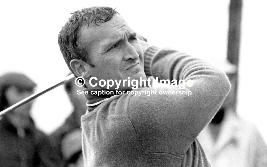 Jimmy Kinsella, professional, golfer, Ireland, June, 1972, 197206000360JK2<br />