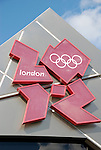 Olympic Games London 2012 logo in Trafalgar Square