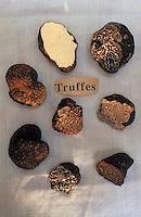 Europe/France/Midi-Pyrénées/46/Lot/Vallée du Lot/Cahors: Truffes chez Pebeyre - Différentes variétés