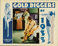 Gold Diggers of 1933 (1933)<br /> Lobby card<br /> *Filmstill - Editorial Use Only*<br /> CAP/KFS<br /> Image supplied by Capital Pictures