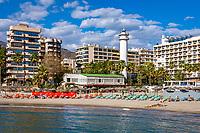 Spanien, Andalusien, Provinz Málaga, Costa del Sol, Marbella: Strand | Spain, Andalusia, Costa del Sol, Marbella: beach