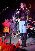 "Olivia Olson (Marceline the Vampire Queen)<br /> performs live and sign copies of the book ""Adventure Time - The Enchiridion & Marcy's Super Secret Scrap Book"" at HMV, 363 Oxford Street, London<br /> <br /> <br /> ©Ash Knotek  D3097 10/03/2016"