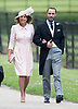 20.05.2017; Englefield, UK: CAROLE AND JAMES MIDDLETON<br /> attend the wedding of Pippa Middleton to James Mathews at St Mark&rsquo;s Church, Englefield.<br /> Princess Charlotte and Prince George were flower girl and page boy respectively for their aunt.<br /> Mandatory Photo Credit: &copy;Steph Dias/NEWSPIX INTERNATIONAL<br /> <br /> IMMEDIATE CONFIRMATION OF USAGE REQUIRED:<br /> Newspix International, 31 Chinnery Hill, Bishop's Stortford, ENGLAND CM23 3PS<br /> Tel:+441279 324672  ; Fax: +441279656877<br /> Mobile:  07775681153<br /> e-mail: info@newspixinternational.co.uk<br /> Usage Implies Acceptance of OUr Terms &amp; Conditions<br /> Please refer to usage terms. All Fees Payable To Newspix International