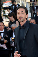 Adrien Brody at the closing gala screening for &quot;The Man Who Killed Don Quixote&quot; at the 71st Festival de Cannes, Cannes, France 19 May 2018<br /> Picture: Paul Smith/Featureflash/SilverHub 0208 004 5359 sales@silverhubmedia.com