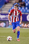 Atletico de Madrid's Filipe Luis during Copa del Rey match between Atletico de Madrid and SD Eibar at Vicente Calderon Stadium in Madrid, Spain. January 19, 2017. (ALTERPHOTOS/BorjaB.Hojas)