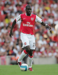 Arsenal's Emmanuel Eboue in action. .Pic SPORTIMAGE/David Klein