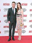 "Lydia Hearst and Chris Hardwick attends The Premiere Of Marvel's ""Ant-Man"" held at The Dolby Theatre  in Hollywood, California on June 29,2015                                                                               © 2015 Hollywood Press Agency"