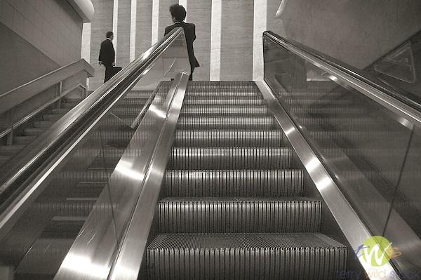 Philadelphia International Airport.escalator system