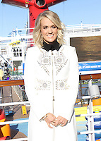NEW YORK, NY November 04:Carrie Underwood at Carnival Vista at Piere 88 in New York .November 04, 2016. Credit:RW/MediaPunch