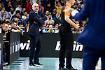 Real Madrid coach Pablo Laso during Turkish Airlines Euroleague match between Real Madrid and CSKA Moscow at Wizink Center in Madrid, Spain. November 29, 2018. (ALTERPHOTOS/Borja B.Hojas)