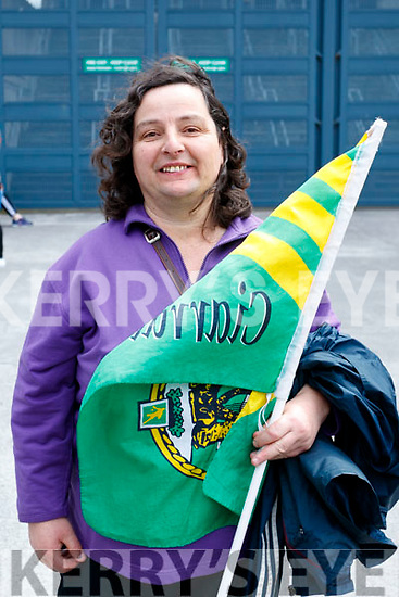Christina Casey, Cromane, pictured at the All Ireland SFC quarter final Kerry v Galway in Croke Park, Dublin on Sunday.
