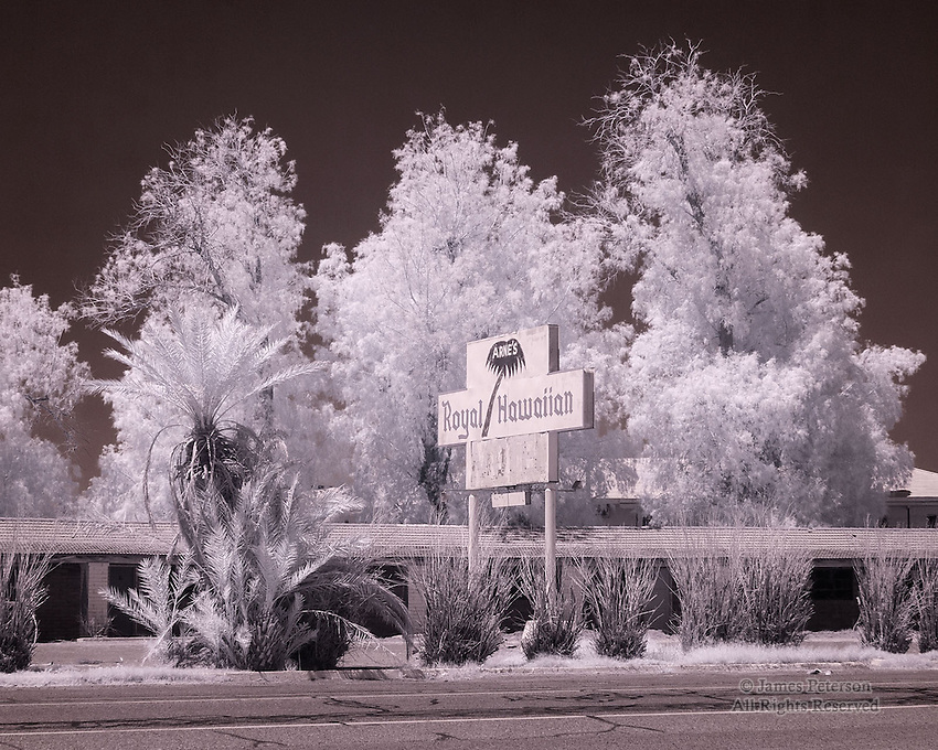 Abandoned Motel, Baker, California
