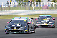 Round 9 of the 2018 British Touring Car Championship. #22 Chris Smiley. BTC Norlin Racing. Honda Civic Type R.
