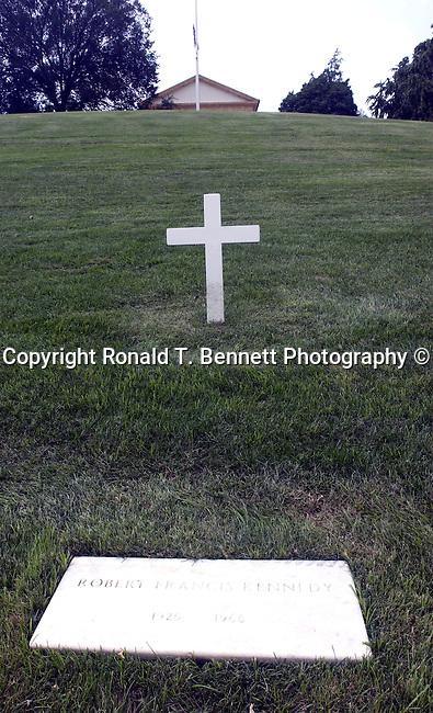 Robert F. Kennedy Arlington grave, Washington, D.C. fine art photography by Ron Bennett (c). Copyright Fine Art Photography by Ron Bennett, Fine Art, Fine Art photo, Art Photography,