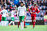 Stockholm 2014-05-04 Fotboll Superettan Hammarby IF - IFK V&auml;rnamo :  <br /> Hammarbys Pablo Pinones-Arce deppar<br /> (Foto: Kenta J&ouml;nsson) Nyckelord:  Superettan Tele2 Arena Hammarby HIF Bajen V&auml;rnamo depp besviken besvikelse sorg ledsen deppig nedst&auml;md uppgiven sad disappointment disappointed dejected