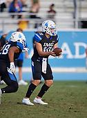 Alaric Gonzalez (10) - Norland Vikings (Miami) vs IMG Academy Football on October 26, 2019 at IMG Academy in Bradenton, Florida.  (Mike Janes Photography)
