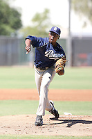 Dexter Carter - San Diego Padres - 2010 Instructional League.Photo by:  Bill Mitchell/Four Seam Images..