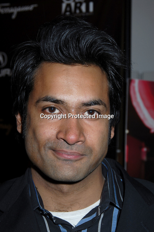 Actor Samrat Chakrabarti ..at The Launch Party for the 11th Annual Gen Art Film Festival hosted by Salvatore Ferragamo on March 29, 2006..at Salvatore Ferragamo Store on Fifth Avenue. ..Robin Platzer, Twin Images