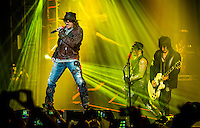 LAS VEGAS, NV - May 21 : Guns N' Roses perform at The Joint at Hard Rock Hotel & Casino in Las Vegas, NV on May 21, 2014. © Kabik/ Starlitepics /NortePhoto.com