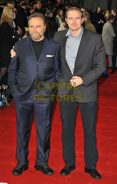 Franco Nero and Carlo Gabriel Nero at the &quot;The Time of Their Lives&quot; world film premiere, Curzon Mayfair cinema, Curzon Street, London, England, UK, on Wednesday 08 March 2017.<br /> CAP/CAN<br /> &copy;CAN/Capital Pictures