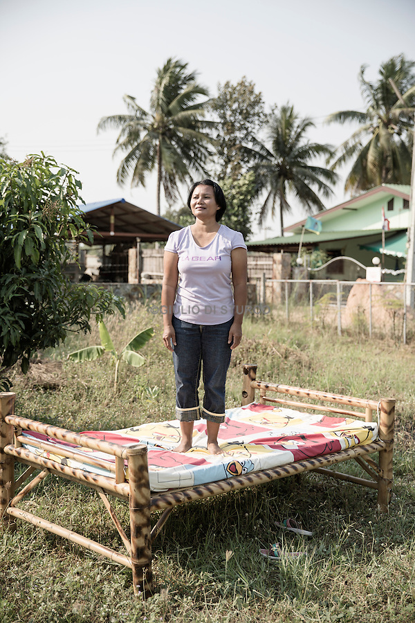 Ms. Bouloi at her house in Pattaya which she shares with her German husband Werner.<br /><br />&copy; Giulio Di Sturco<br />Pattay, Thailand 2016