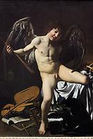 1601 Caravaggio Amor als Sieger anagoria
