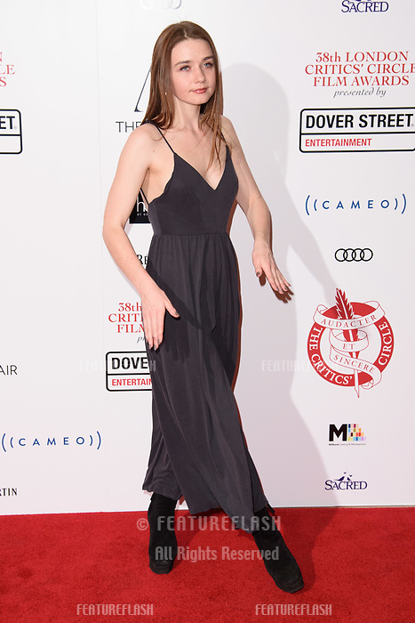 Jessica Bardem at the 38th Annual London Critics' Circle Film Awards at the Mayfair Hotel, London, UK. <br /> 28 January  2018<br /> Picture: Steve Vas/Featureflash/SilverHub 0208 004 5359 sales@silverhubmedia.com