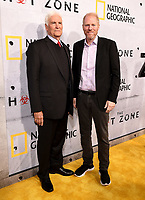 "BEVERLY HILLS - MAY 9: Lt. Col. Jerry Jaax and Noah Emmerich attends the L.A. premiere of National Geographic's 3-Night Limited Series ""The Hot Zone"" at the Samuel Goldwyn Theater on May 9, 2019 in Beverly Hills, California. The Hot Zone premieres Monday, May 27, 9/8c. (Photo by Frank Micelotta/National Geographic/PictureGroup)"