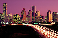 Skyline; city; office buildings;. Houston Texas.