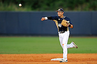 2 March 2012:  FIU infielder Jeremy Bajdaun (41) throws to third during pre-game warm-ups as the FIU Golden Panthers defeated the Brown University Bears, 6-5, at University Park Stadium in Miami, Florida.