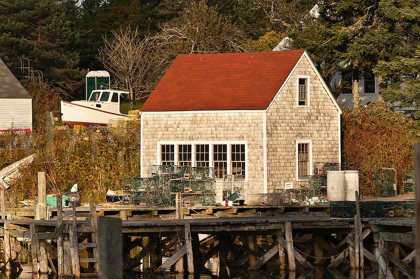 Shanty, Port Clyde, Maine, ME, USA