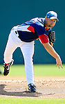8 March 2007: Washington Nationals pitcher Jason Simontacchi in action against the Houston Astros at Space Coast Stadium in Viera, Florida. <br /> <br /> Mandatory Photo Credit: Ed Wolfstein Photo