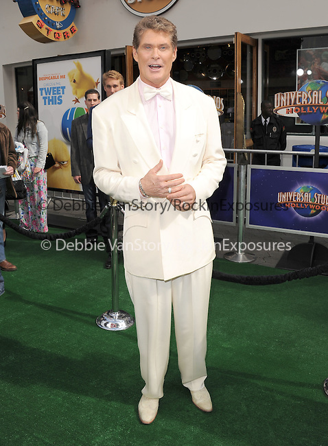 David Hasselhoff at The Universal Pictures' World Premiere of HOP held at Universal City Walk in Universal City, California on March 27,2011                                                                               © 2010 Hollywood Press Agency