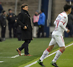 Toluca head coach Rolando Cristante watches during his team's CONCACAF Champions League game against Sporting KC on February 21, 2019 at Children's Mercy Park in Kansas City, KS.<br /> Tim VIZER/Agence France-Presse