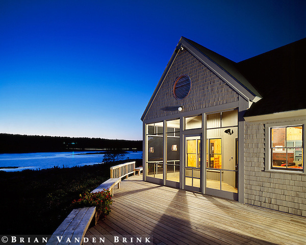 Coastal Maine. Stephen Blatt Architects