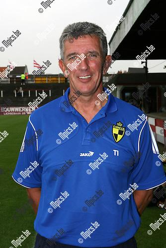 2008-07-26 / Voetbal / Archief 2008-2009 / K. Lierse S.K. / Trainer Herman Helleputte..Foto: Maarten Straetemans (SMB)
