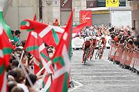 team Euskaltel-Euskadi during Special Crono Stage.August 17,2012. (ALTERPHOTOS/Alfaqui/Paula Otero) /NortePhoto.com<br /> <br /> **SOLO*VENTA*EN*MEXICO**<br /> **CREDITO*OBLIGATORIO** <br /> *No*Venta*A*Terceros*<br /> *No*Sale*So*third*<br /> *** No Se Permite Hacer Archivo**<br /> *No*Sale*So*third*