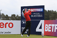 Martin Kaymer (GER) on the 4th tee during Round 1 of the Betfred British Masters 2019 at Hillside Golf Club, Southport, Lancashire, England. 09/05/19<br /> <br /> Picture: Thos Caffrey / Golffile<br /> <br /> All photos usage must carry mandatory copyright credit (© Golffile | Thos Caffrey)
