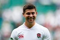 Ben Youngs of England is all smiles after the match. Quilter International match between England and Wales on August 11, 2019 at Twickenham Stadium in London, England. Photo by: Patrick Khachfe / Onside Images