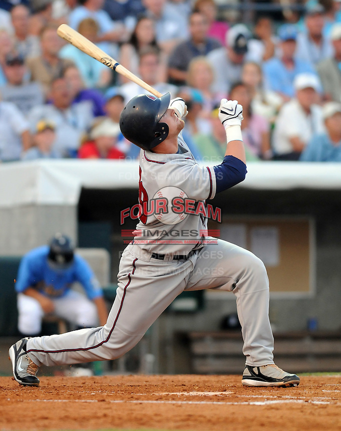 June 24, 2008: Catcher Jon Still of the Lancaster Jethawks at the California-Carolina All-Star Game between members of the California League and the Carolina League at BB&T Coastal Field in Myrtle Beach, S.C. Photo: Tom Priddy / Four Seam Images